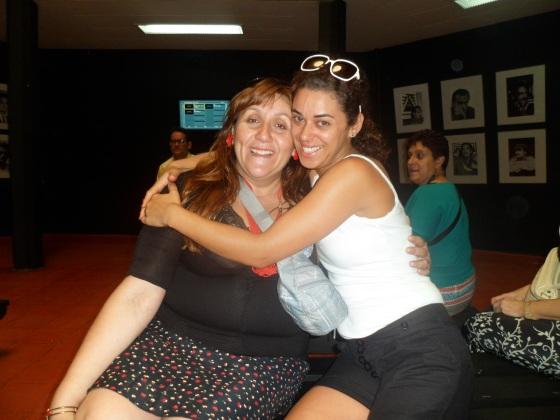 Con la querida Eva Pasini