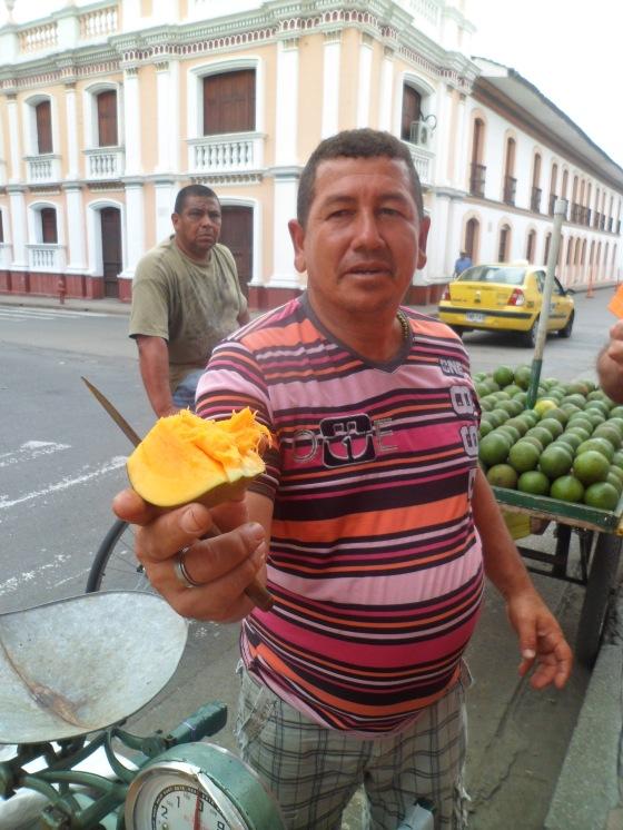 Quer un mango?