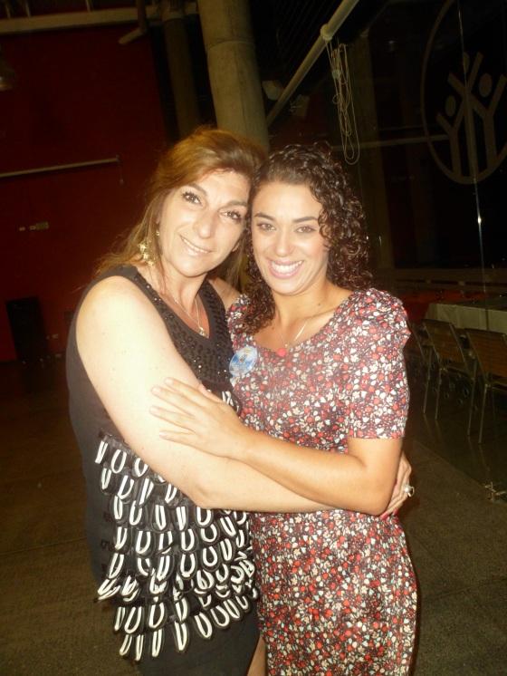 Com Marcela Placona