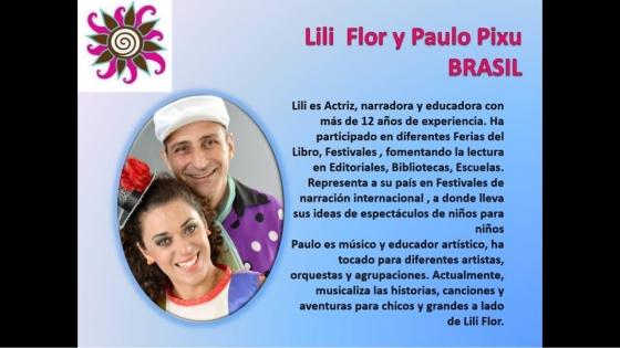 Lili Flor & Paulo Pixu foram os convidados do Brasil para o 6º Festival Palabras al Viento