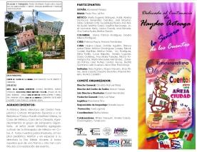 Programa del festival HOJA 1