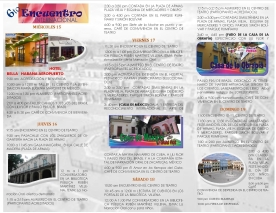 Programa del festival HOJA 2